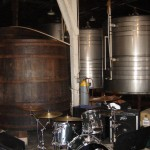 Tama Bass Drum and Toms; THE Pearl Snare; Zildjian Cymbals
